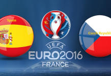 spain vs czech republic euro 2016