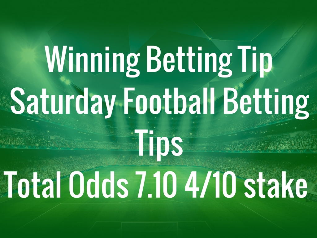Football Tips For Saturday